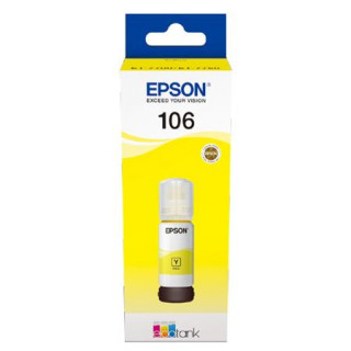 Epson 106 Yellow Original Ecotank Ink Bottle