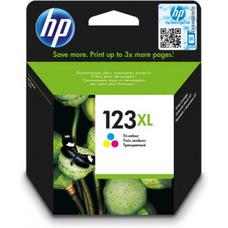 HP 123XL TRI-COLOR INK...