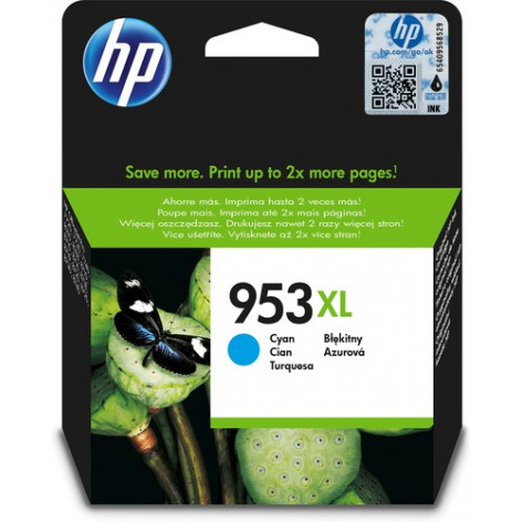 HP 953XL HIGH YIELD CYAN...